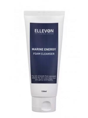 Пенка для умывания с морскими минералами Ellevon Marine Energy Foam Cleanser 150 мл