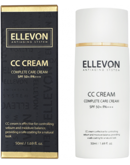 CC крем Ellevon CC Complete Care Cream SPF 50+ PA+++ 50 мл