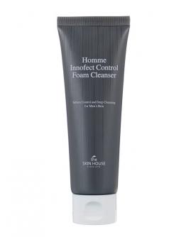 Пенка для умывания мужская The Skin House Homme Innofect Control Foam Cleanser 120 мл
