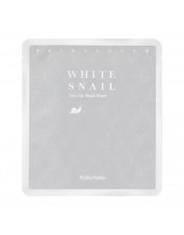 Гидрогелевая маска с муцином белой улитки Holika Holika Prime Youth White Snail Tone Up Mask Sheet