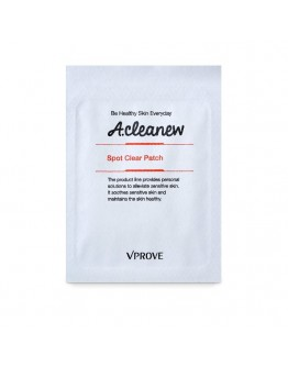 Патч для проблемных участков VPROVE A-cleanew Spot Clear Patch 2 листа