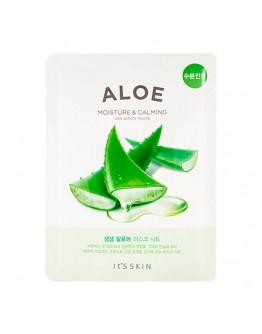 Успокаивающая тканевая маска It's Skin The Fresh Aloe Mask Sheet с алоэ
