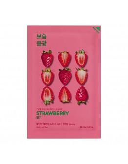 Освежающая тканевая маска Holika Holika Pure Essence Mask Sheet Strawberry (клубника)