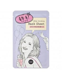 "Тканевая маска для лица ""После вечеринки"" Holika Holika After Mask Sheet - After Drinking"