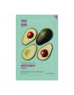 Смягчающая тканевая маска Holika Holika Pure Essence Mask Sheet Avocado  (авокадо)