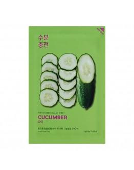 Успокаивающая тканевая маска Holika Holika Pure Essence Mask Sheet Cucumber (огурец)