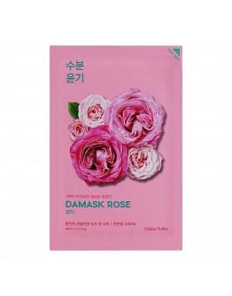 Увлажняющая тканевая маска Holika Holika Pure Essence Mask Sheet Damask Rose (дамасская роза)