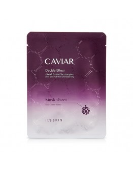 Тканевая маска It's Skin Caviar Double Effect Mask Sheet антивозрастная