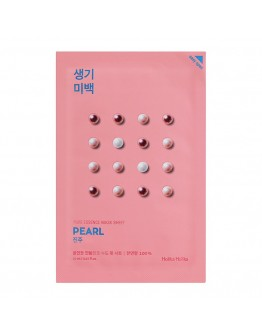 Осветляющая тканевая маска Holika Holika Pure Essence Mask Sheet Pearl (жемчуг)