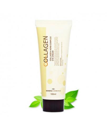 Крем для век с коллагеном и растительными экстрактами Esthetic House Collagen Herb Complex Eye Cream 100 мл