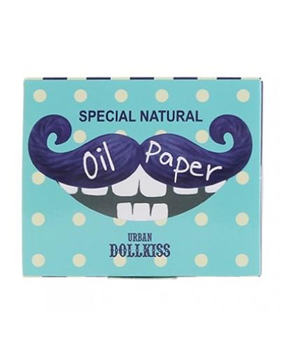 Матирующие салфетки для лица Urban Dollkiss Entertainer Oil Paper 100шт