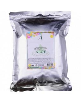 Маска альгинатная с экстрактом алоэ успокаивающая Anskin Aloe Modeling Mask 1000 г