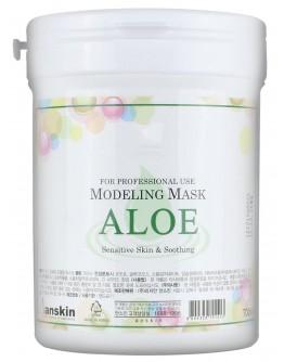 Маска альгинатная с экстрактом алоэ успокаивающая (банка) Anskin Aloe Modeling Mask