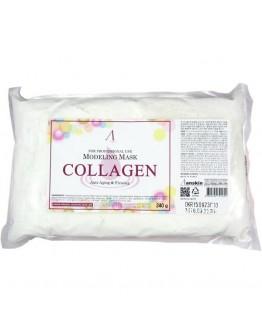 Маска альгинатная с коллагеном укрепляющая (пакет) Anskin Collagen Modeling Mask 240 г