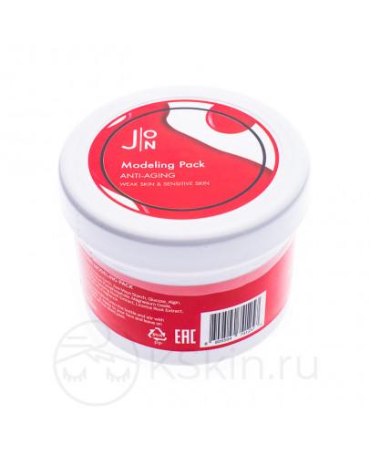 Альгинатная маска антивозрастная J:ON Anti-Aging Modeling Pack 18 г