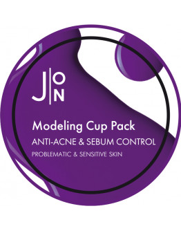 Альгинатная маска анти-акне и себум-контроль J:ON Anti-Acne & Sebum Control Modeling Pack 18 гр