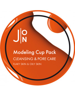 Альгинатная маска для очищения и сужения пор J:ON Cleansing & Pore Care Modeling Pack 18 гр