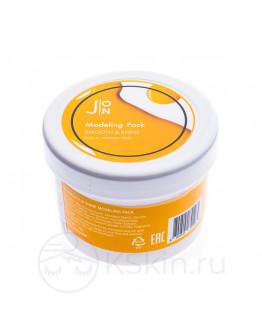 Альгинатная маска Гладкость и Сияние J:ON Smooth & Shine Modeling Pack 18 г