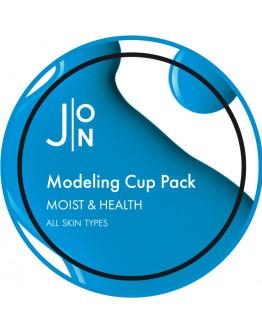 Альгинатная маска Увлажнение и Здоровье J:ON Moist & Health Modeling Pack 18 гр