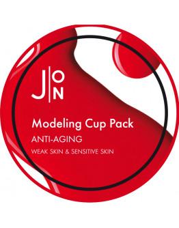 Альгинатная маска антивозрастная J:ON Anti-Aging Modeling Pack 18 гр