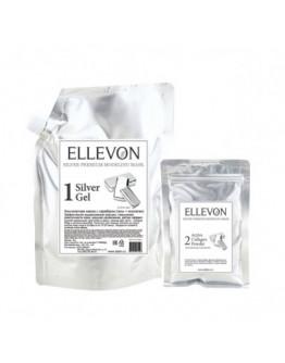 Премиум альгинатная маска с серебром (гель + коллаген) Ellevon Silver Premium Modeling Mask 1000 мл