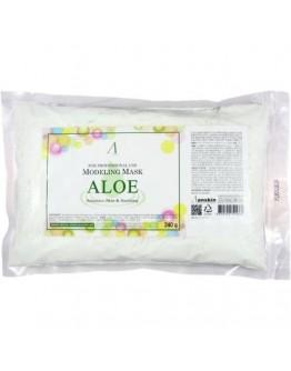 Маска альгинатная с экстрактом алоэ успокаивающая (пакет) Anskin Aloe Modeling Mask