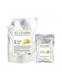 Премиум альгинатная маска с золотом (гель + коллаген) Ellevon Gold Premium Modeling Mask 1000 мл
