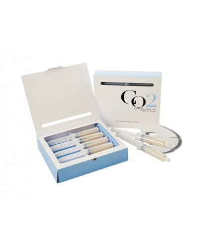 Маска для лица и шеи + гель-активатор Карбокситерапия (набор) /Esthetic House CO2 Esthetic Formula Carbonic Mask 5 шт