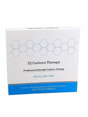 Набор для карбокситерапии лица и шеи (маски + гель-активатор) Daejong DJ Carborn Therapy 5 шт