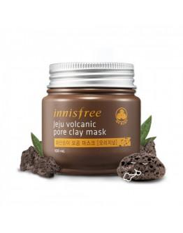 Очищающая маска с вулканической глиной Innisfree Jeju Volcanic Pore Clay Mask 100 мл