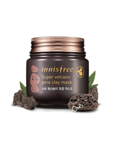 Интенсивная очищающая маска с вулканической глиной Innisfree Super Volcanic Pore Clay Mask 100 мл