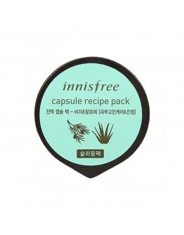 Маска для лица капсульная Innisfree Capsule Recipe Pack Bija & Aloe