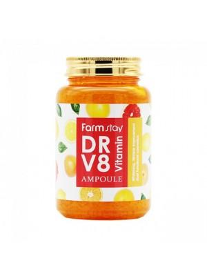 Ампульная сыворотка с витаминами FarmStay DR-V8 Vitamin Ampoule 250 мл