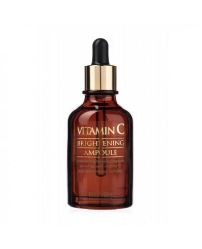 Осветляющая сыворотка с витамином С Ellevon Vitamin C Brightening Ampoule 50 мл