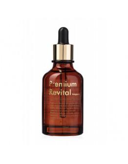 Пептидная ревитализирующая сыворотка Ellevon Premium Revital Ampoule 50 мл
