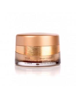 Омолаживающий крем с улиточным муцином для глаз The Saem Snail Essential EX Wrinkle Solution Eye Cream 30 мл