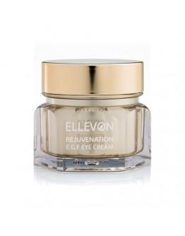 Омолаживающий крем для глаз с EGF Ellevon Rejuvenation E.G.F. Eye Cream 50 мл