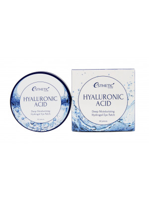 Гидрогелевые патчи с гиалуроновой кислотой Esthetic House Hyaluronic Acid Hydrogel Eye Patch 60 шт