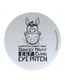 Патчи для век биоцеллюлозные Elizavecca Donkey Piggy Donkey Milky EGF Cling Eye Patch 60 шт