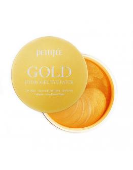 Набор гидрогелевых патчей для век с золотом Petitfee Gold Hydrogel Eye Patch 60 шт