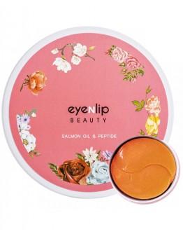 Патчи для век гидрогелевые с лососевым маслом и пептидами Eyenlip Salmon Oil & Peptide Hydrogel Eye Patch