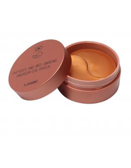 Патчи для век с пептидами и экстрактом красного женьшеня L.Sanic Peptides Аnd Red Ginseng Premium Eye Patch 60 шт