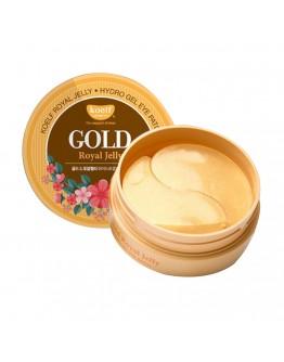 Набор патчей для век гидрогелевых Золото и Маточное молочко Koelf Gold & Royal Jelly Hydrogel Eye Patch 60 шт