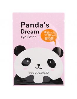 Тканевая маска для глаз от темных кругов Tony Moly Panda's Dream Eye Patch