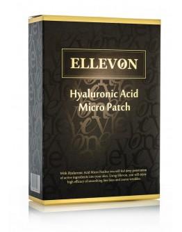 Набор патчей c микроиглами гиалуроновой кислоты Ellevon Hyaluronic Acid Micro Patch 4 пары