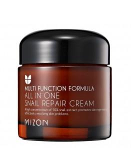 Восстанавливающий крем с экстрактом улитки Mizon All In One Snail Repair Сream 75 мл