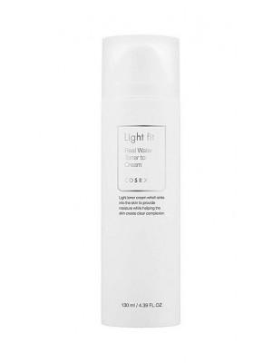 Легкий тонер-крем 2 в 1 COSRX Light Fit Real Water Toner To Cream 130 мл