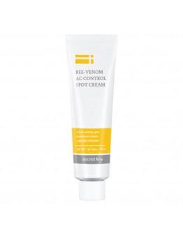 Крем для проблемной кожи с пчелиным ядом Secret Key Bee Venom AC Control Spot Cream 30 ml