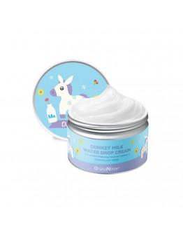 Крем для лица с молочными протеинами SeaNtree Donkey Milk Water Drop Cream