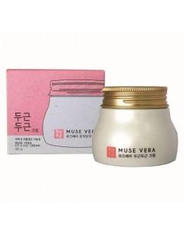 Крем для лица с цветочными экстрактами Muse Vera Pit Pat Cream